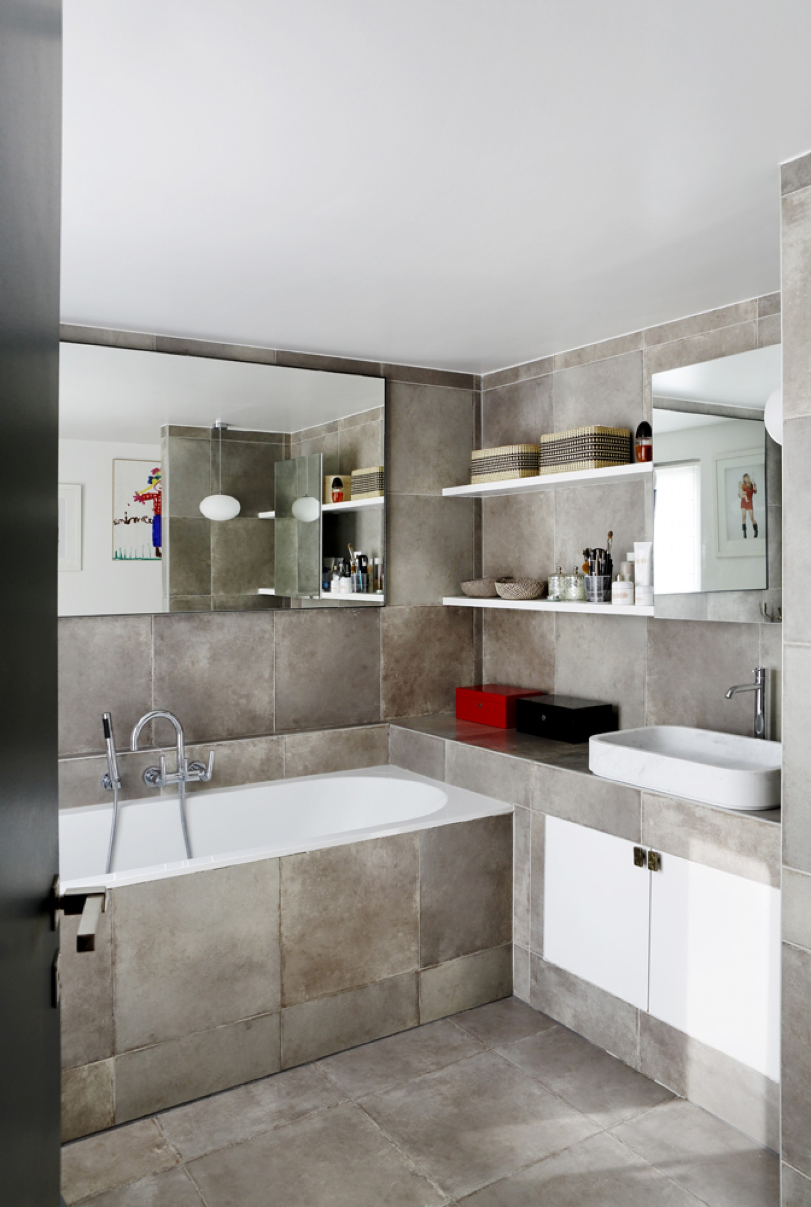 Mirror Design Wall Modern