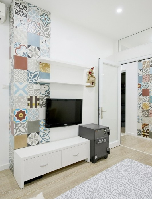 Ceramic-Tiles-Used-as-a-Decorative-Material-HT-Apartment-in-Vietnam-8