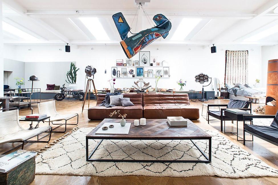 The loft conceptual pop up store in amsterdam design - Loft design amsterdam standard studio ...