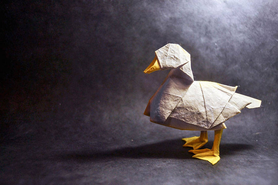 Origami Art By Spanish Artist Gonzalo Calvo Design