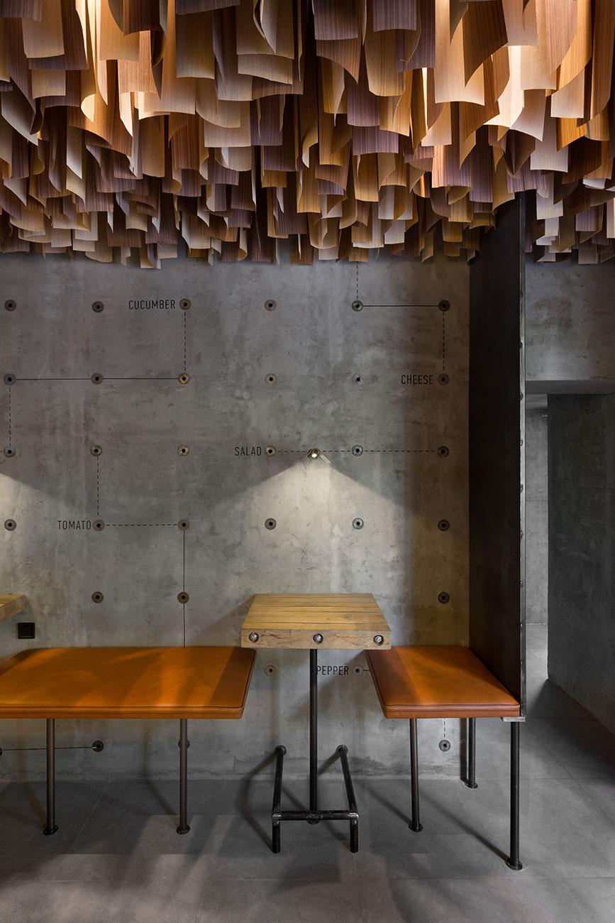 shade burger/ cafeyod design | design +