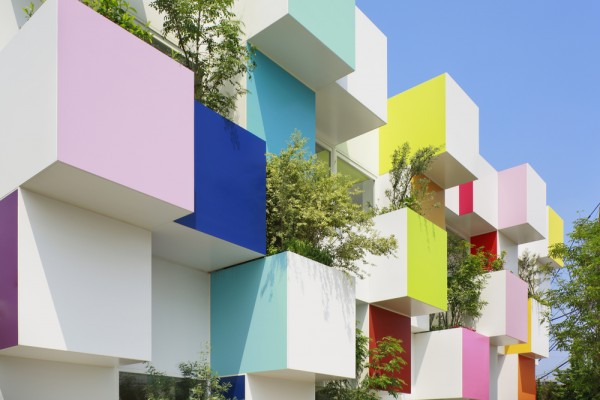 Sugamo Shinkin Bank, Nakaaoki Branch by Emmanuelle Moureaux