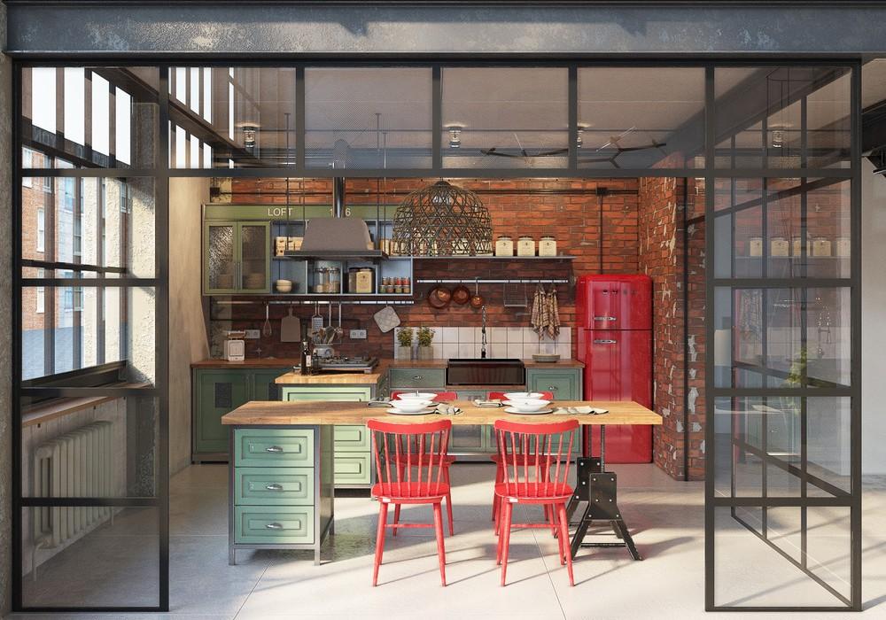 Loft By Design industrial loftgolovach tatiana & andrey kot | design +
