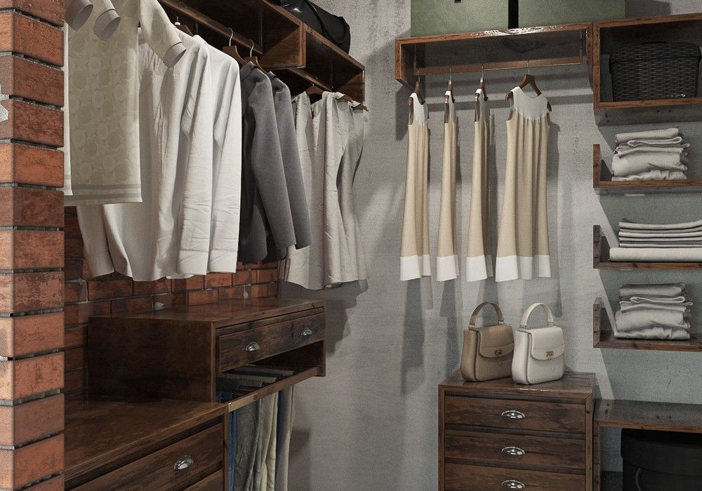 industrial-loft-walk-in-closet