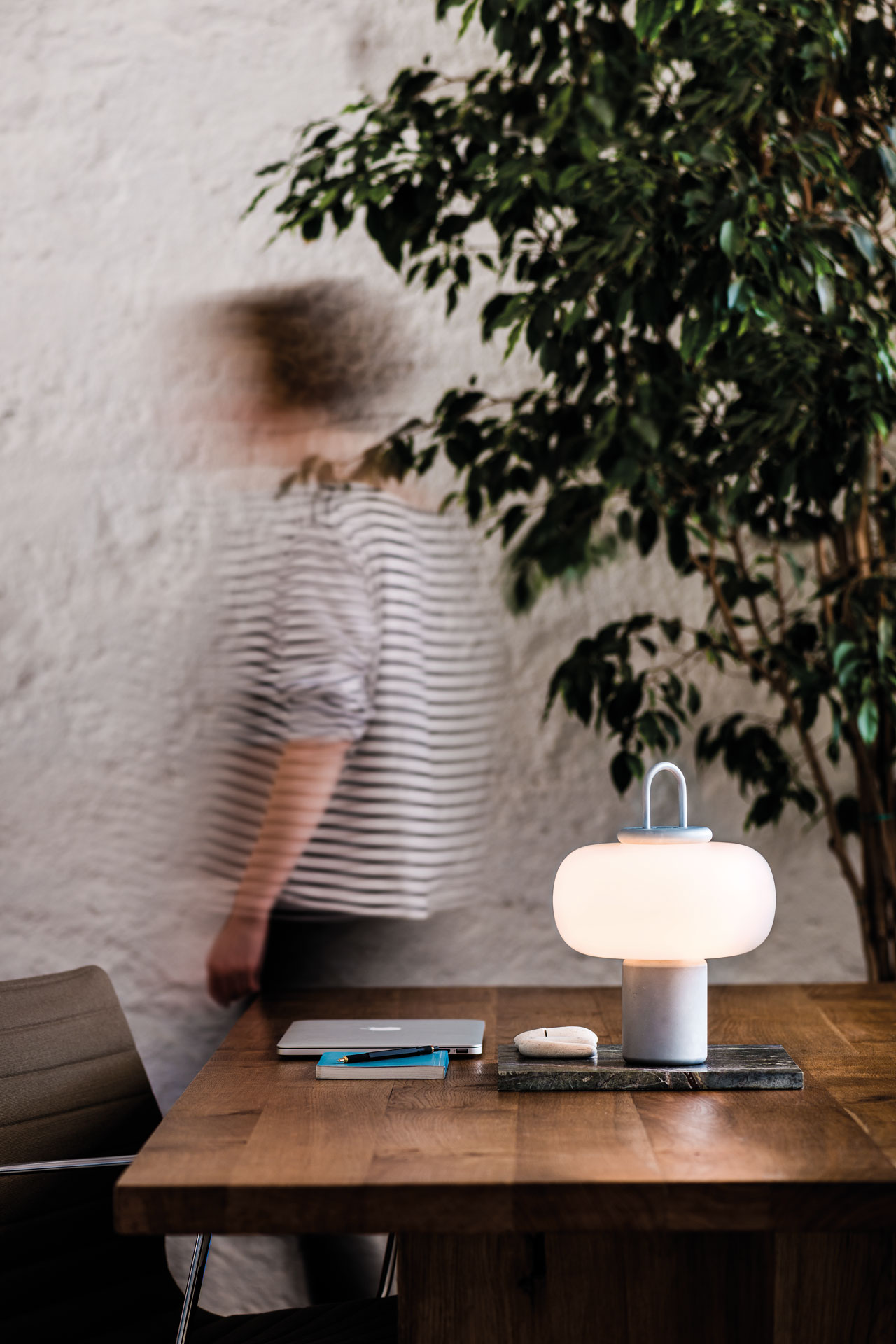 ... Beautiful Portable Luminaire. Named For U0027nightu0027 In Latin, Nox In Its  Very Essence Invites Being Moved Around To Embellish And Brighten Up  Everyday Life, ...