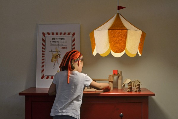 Circus Lamp designed by Javier Herrero for Buokids