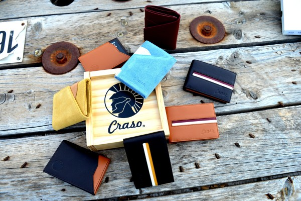 Limited exquisite wallets from Craso Brand