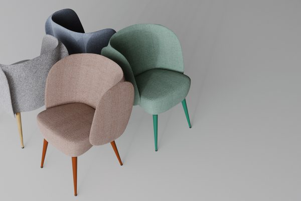 Elephant-like furniture by Sergey Makhno Architects