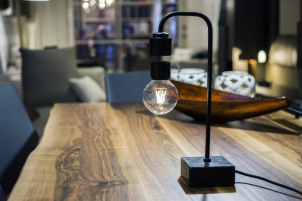 Levia – Unique levitating marble lamp