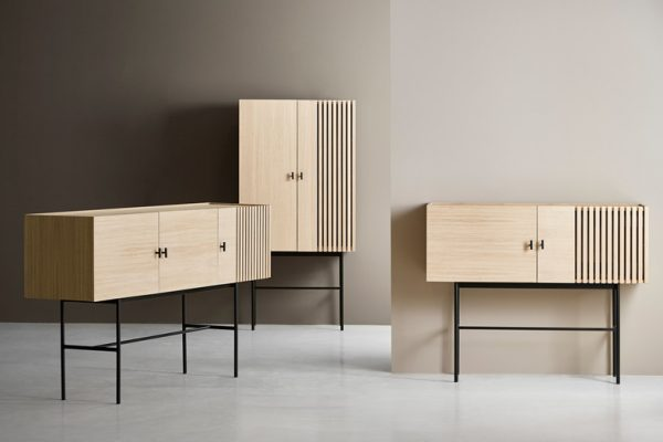 Array sideboards designed by Says Who for WOUD