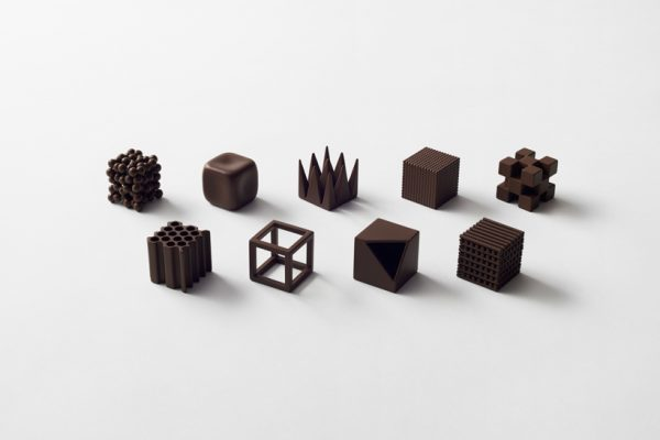Chocolatexture by Nendo for Maison & Objet Paris