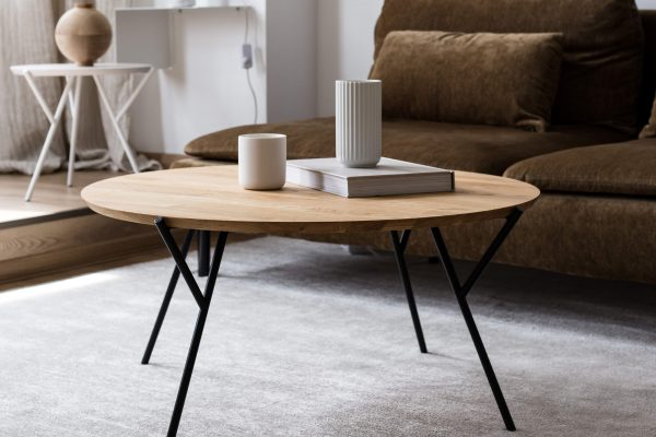 Minimalist coffee tables by Martin Foret