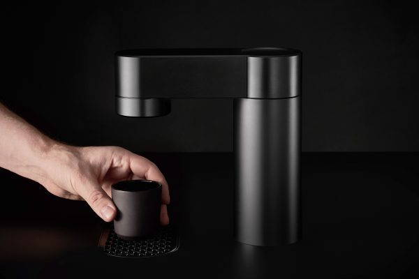 Minimal coffee machine by Felix Pöttinger